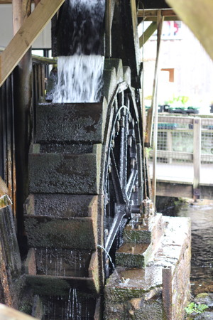 water wheel: Water Wheel - British Water Wheel