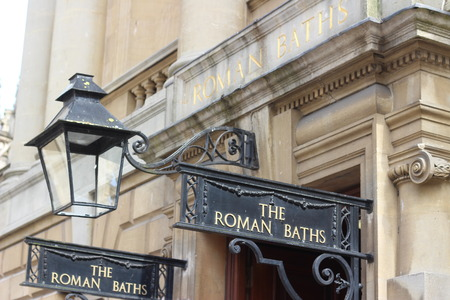 The Roman Baths, Bath City, UK