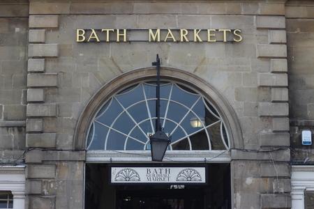 bath: Bath Markets, Bath, UK Editorial