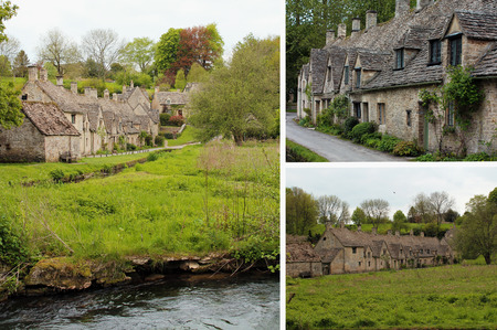 Bibury, Village in Cotswolds