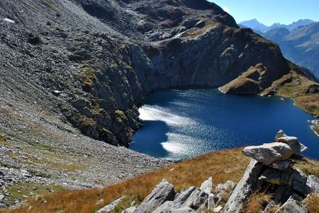 lago superiore in val formazza Stock Photo - 9635801