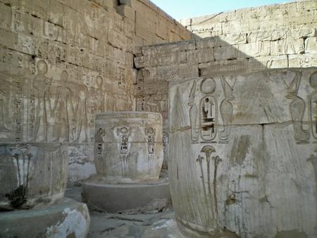inside the ramesseum temple in luxor