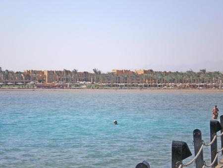 resort on the red sea near makadi photo