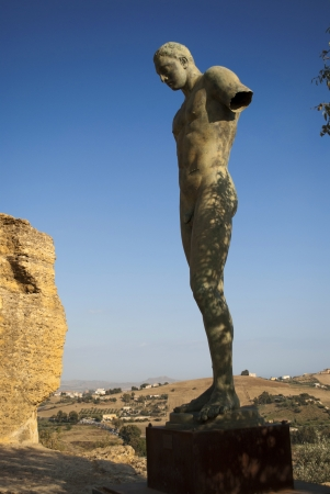 igor: igor mitoraj sculpture in agrigento