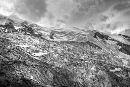 serac: seracs on trift glacier climbing weissmies