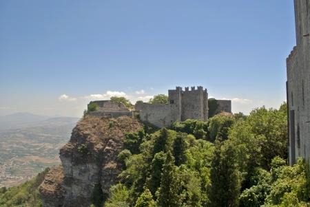 castle of erice in sicily