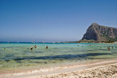capo: the coast near san vito lo capo in sicily Stock Photo