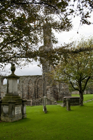 andrews: ruins of yhe cathedral of saint andrews in scotland