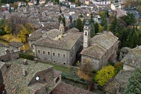 piacenza: iglesia en Castell'Arquato cerca de Piacenza