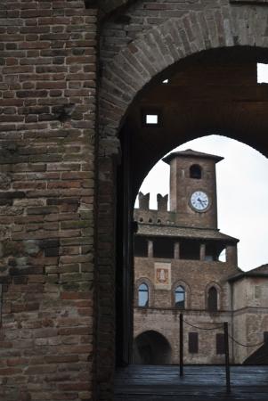 piacenza: palacio en la ciudad de Castell'Arquato cerca de Piacenza