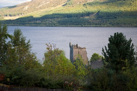urquhart castle on lochness in scotland