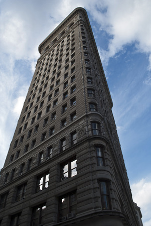 flatiron: the flatiron building in manhattan