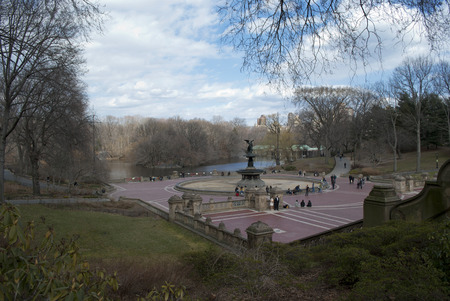 bethesda: the bethesda terrace in central park Editorial