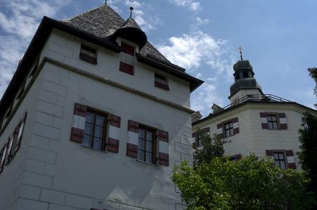 innsbruck: ambras castle near innsbruck in austria