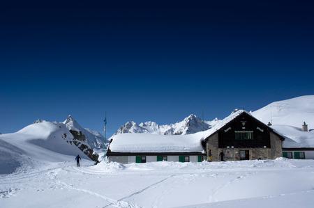 maria luisa hut in formazza valley