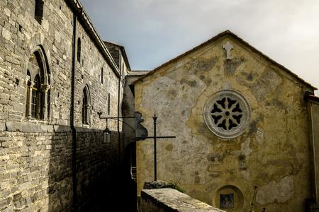 ancient church of san lorenzo in italy