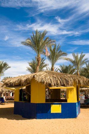 singleness: beach cabin