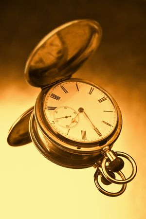 gold pocket watch Stock Photo - 2827094