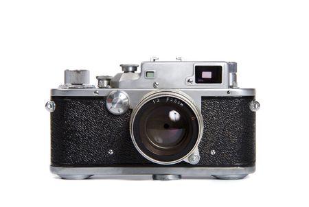 viewfinder vintage: Classic 35mm SLR camera