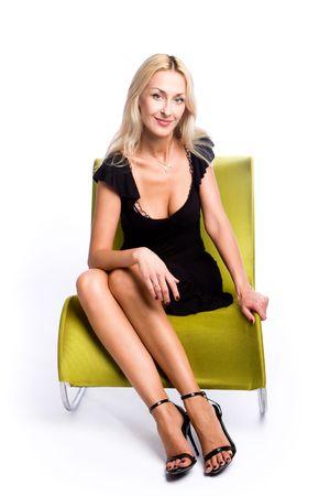 Fashion portrait of a beautiful female Stock Photo - 3408709