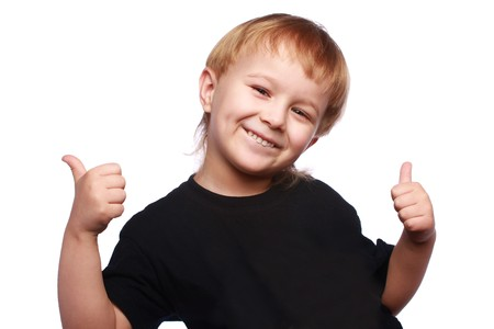 Two thumb up Stock Photo - 4136033