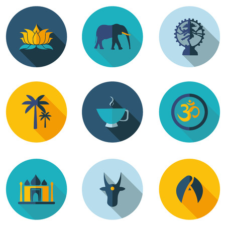 stereotypes: Indian- best flat icons