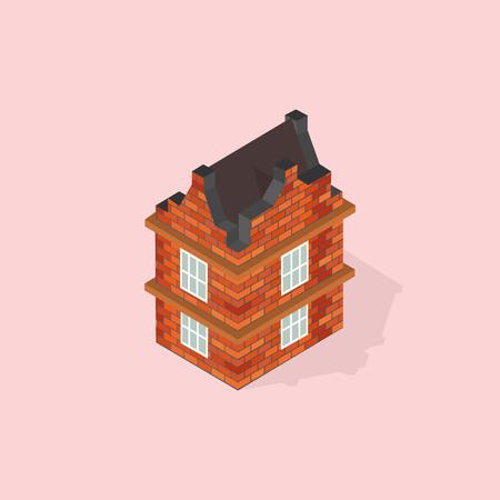 brick house: brick house isometric