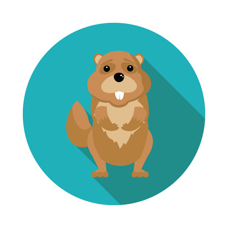 nutria caricatura: best flat  icons beaver in vector format Vectores