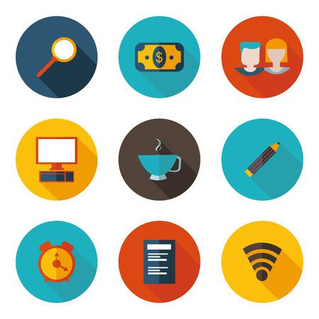 freelance: best freelance flat icons