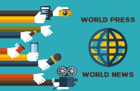 truthful: world press-world news-the slogan of modern and truthful press