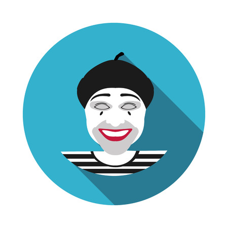 mime: flat icon MIME in vector format