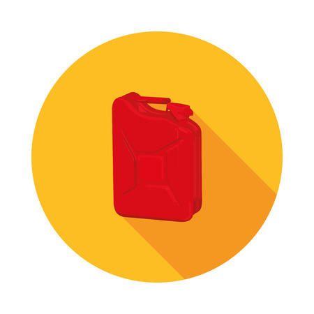 canister: flat icon canister in vector format