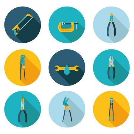 rasp: flat icons bench tools