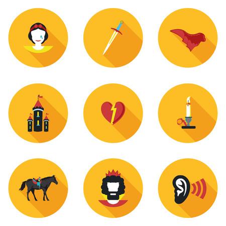 operetta: flat icons