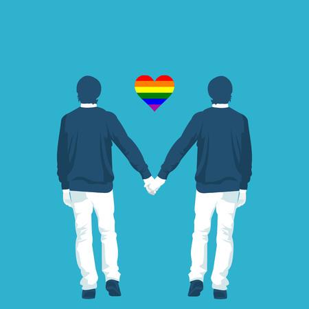 LGBT community is gay in vector format