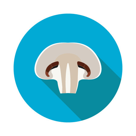 sectional: flat icon mushroom sectional