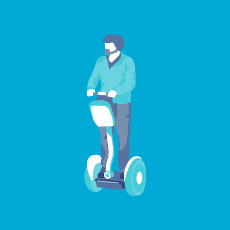 guy on the Segway
