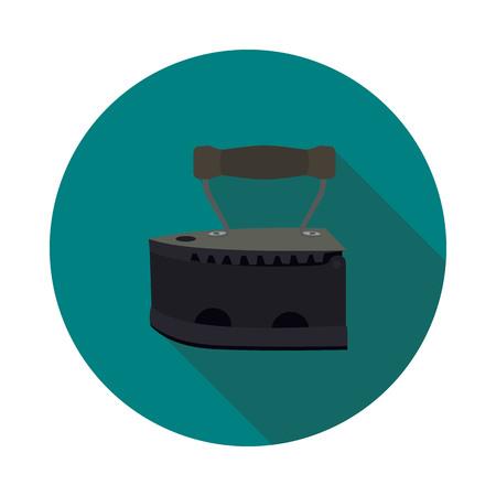 ベクトル形式のフラット アイコン石炭鉄  イラスト・ベクター素材