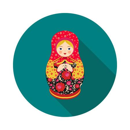 Wooden doll image illustration