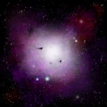 Nebula space background  photo
