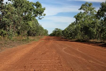 Australian Outback Road photo