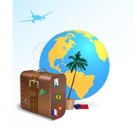 Travel vector illustration Stock Vector - 13246646
