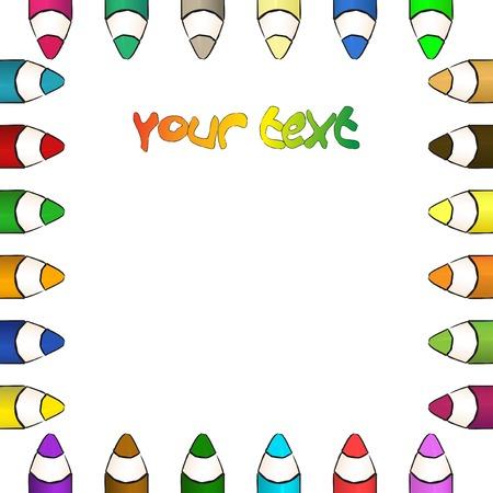 child's: Coloured pencils