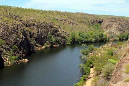 katherine: Katherine gorge. NT. Australia. View from top Stock Photo