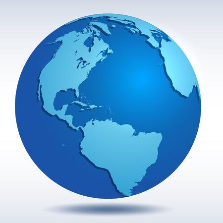 realist: Vector Globe icon