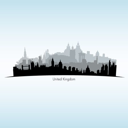 city of westminster: Vector illustration of Great Britain Illustration