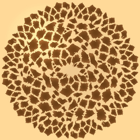 fur: Seamless background of african giraffe fur