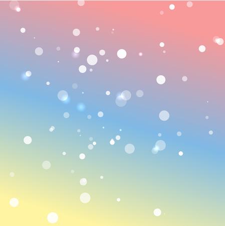 colores pastel: Romantic pastel colors vector background