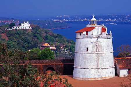 Old Lighthouse and Fort photo