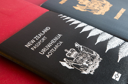 old new: New and old New Zealand passports